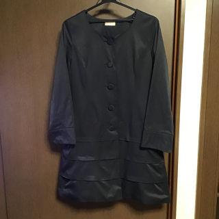 ブラック スプリングコート