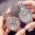 ラインストーン腕時計