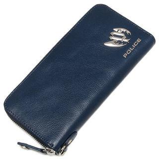 police  長財布