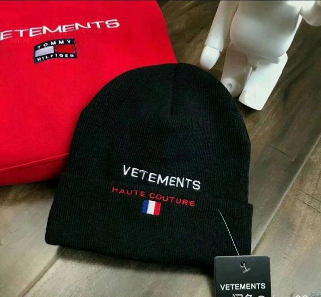 vetements ニット帽 ニット帽子