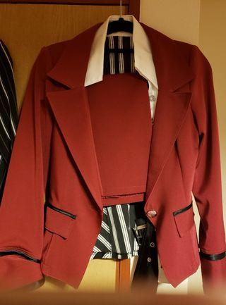 赤スーツ四点セット