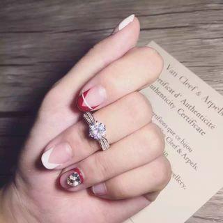 美品 可愛い指輪リング 2pt 226
