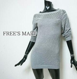 FREE'S MART*ニットワンピース