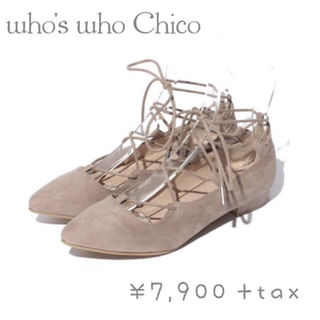 who's who Chico レースアップシューズ
