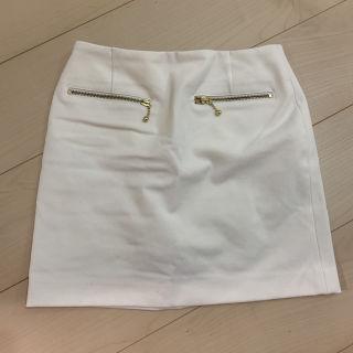 タイトスカート ミニスカート ホワイト