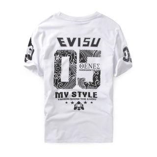 エヴィス【EVISU】 Tシャツ 半袖 メンズ 夏