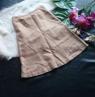 美品!avvラメ×ツイードフレアラインスカート