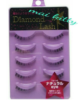 diamondラッシュ下つけま/natural eye