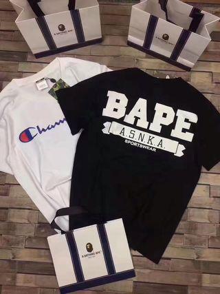 BAPE & CHAMPION Tシャツ