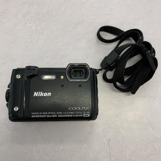 Nicon COOLPIX W300 ブラック デジカメ