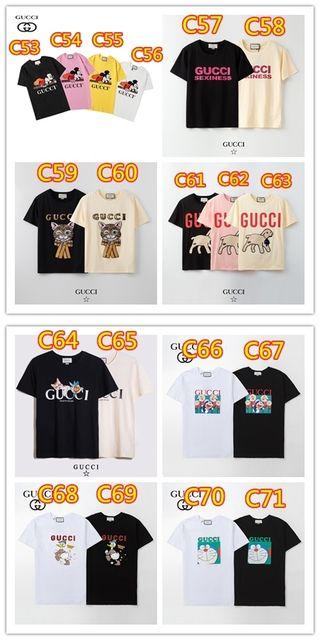 大人気男女兼用Tシャツ 2枚5980円