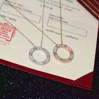 国内発送 Cartierカルティエ 2色ネックレス 人気