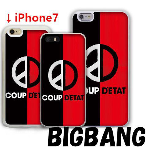 BIGBANG iPhone7 カバー バイカラー  TPU