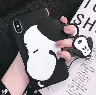 iPhoneケース スヌーピー 3D