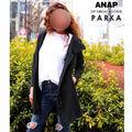 新品未使用 ANAP パーカー 黒