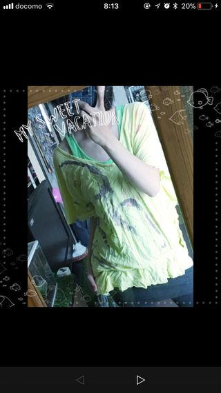 スパイラルガールのドルマンTシャツ!