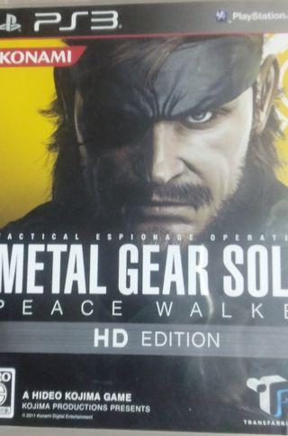 PS3】メタルギアソリッドピースウォーカーHDエディション