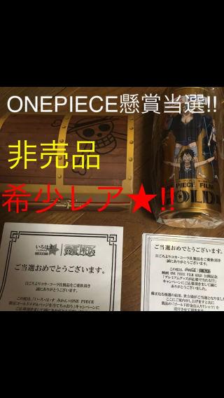 ワンピース懸賞当選品□ゴールドメダルバッジ&貯金缶入りシャツ