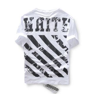 OFF-WHITE 半袖Tシャツ ホワイト