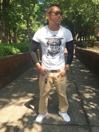 09・John GallianoドクロデザインTシャツ