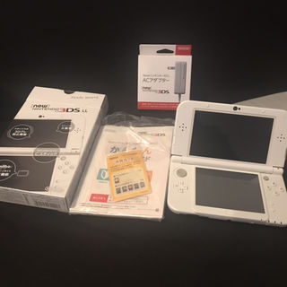 3DS LL パールホワイト