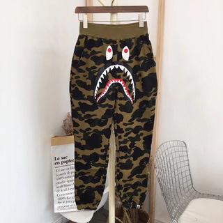 カップル AAPE 迷彩 パンツ