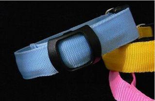 光る LED 首輪 ペット  発光帯  夜間の散歩 ブルー