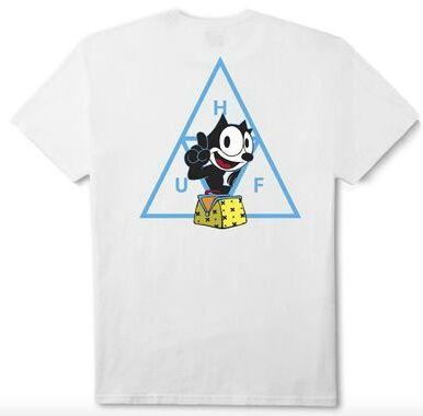 Huf フィリックス Tシャツ ホワイト  L ハフ(HUF(ハフ) ) - フリマアプリ&サイトShoppies[ショッピーズ]
