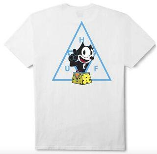 Huf フィリックス Tシャツ ホワイト  L ハフ