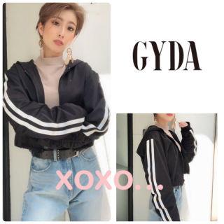 新品 GYDA ラインショートブルゾン