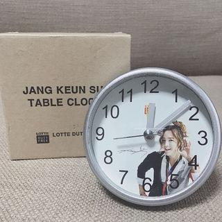 新品未使用ロッテ免税店チャン・グンソク時計 置き時計