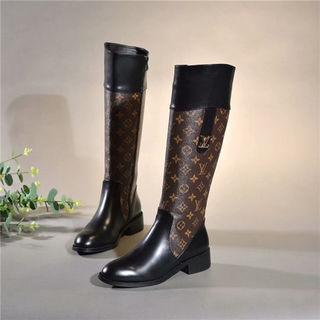 新入荷 ルイヴィトン 靴 ブーツ 革