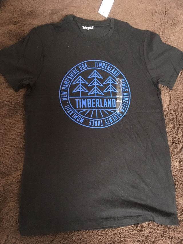 ニューヨーク限定ティーツリー ロゴ入りTシャツ黒(Timberland(ティンバーランド) ) - フリマアプリ&サイトShoppies[ショッピーズ]
