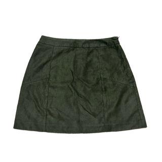 GYDA/フェイクスウェード台形スカート