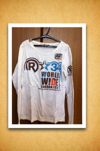 RealBvoice Tシャツ ロングTシャツ ロンT