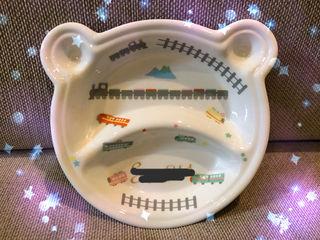 クマさん型の離乳食用(オーダー品)