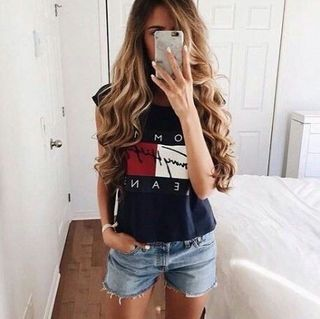 TOMMY JEANS トミーTシャツ ノースリーブ