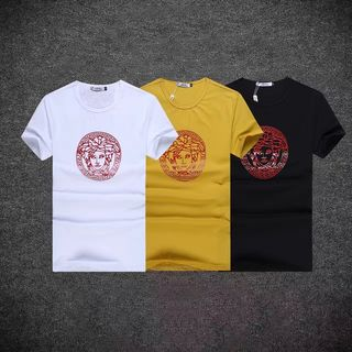 ベルサーチトップス 3色半袖Tシャツ