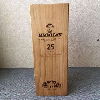 マッカラン25年 木箱