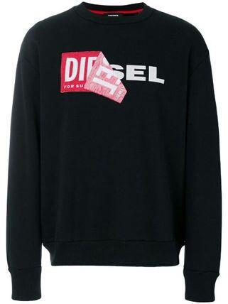 訳あり Diesel スウェット ロゴ ブラック L(DIESEL(ディーゼル) ) - フリマアプリ&サイトShoppies[ショッピーズ]