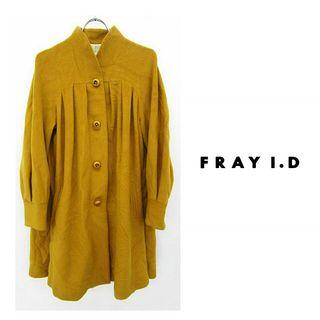 FRAY I.D brown アンゴラ混 ロングコート