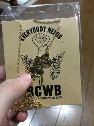 RCWB新品ネックレス