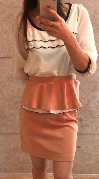 新品タグあり。ネットディマミーナブラウスおまけスカート
