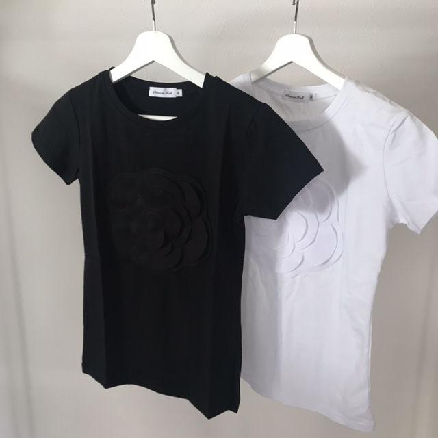 カメリア レイヤード Tシャツ