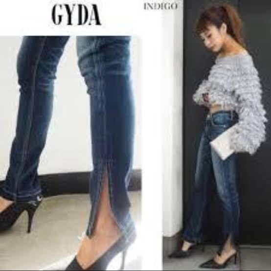 GYDA ストレートパンツ(GYDA(ジェイダ) ) - フリマアプリ&サイトShoppies[ショッピーズ]