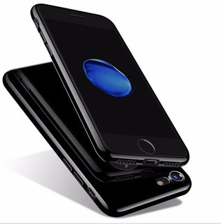 【ロゴ窓なし】iphone7 plus TPU カバーケース