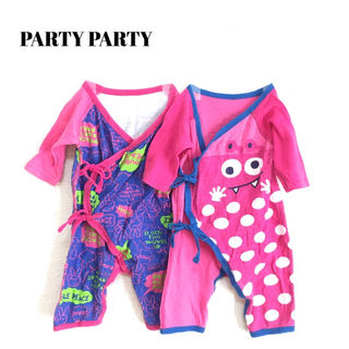 【PARTY PARTY】美品 ロンパース肌着 セット