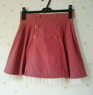 シークレットマジックピンクスカート