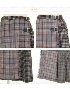 34e987714d18 en face*個性的キュロットスカート(ノーブランド ) - フリマアプリ&サイトShoppies[ショッピーズ]