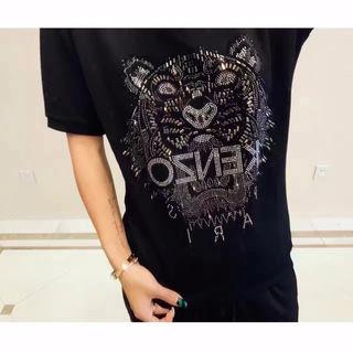 48  kenzo人気新品 Tシャツ 男女兼用  送料無料